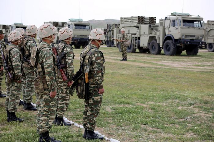 Azerbaijani army names best rocket artillery battalion-  PHOTOS+VIDEO