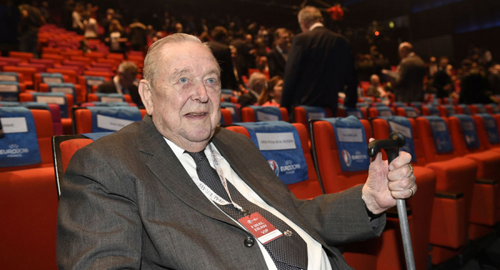 Ehemaliger Uefa-Präsident Lennart Johansson ist tot