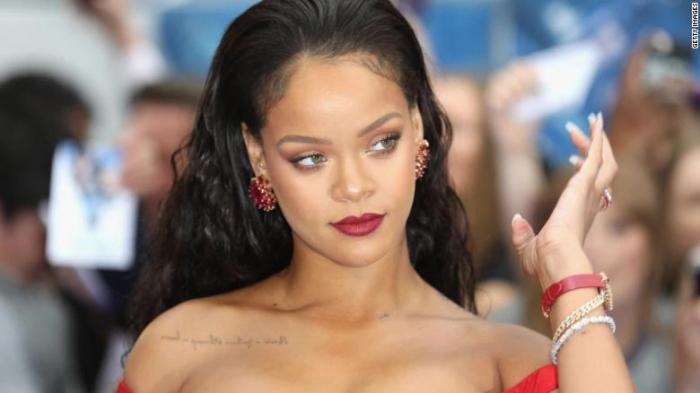 Rihanna named as the world