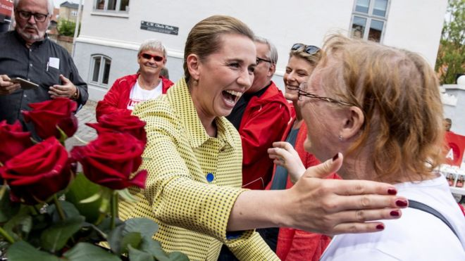 Denmark election: Social Democrats to win, exit polls show