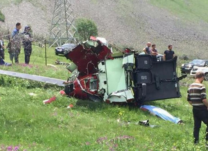 Three die in helicopter accident  in Georgian mountains