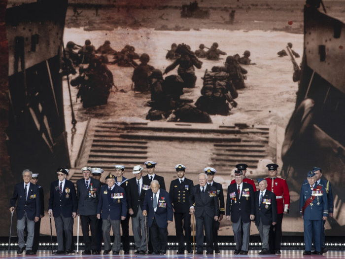 D-Day: Allies commemorate pivotal World War II invasion, 75 years later