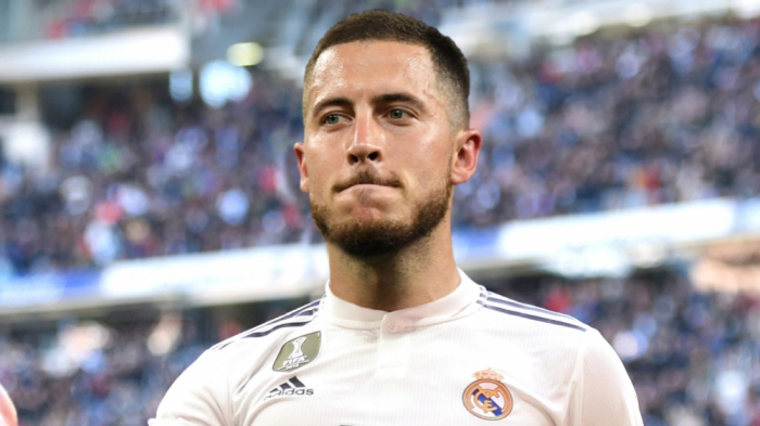 """Eden Hazard rəsmən """"Real""""da"""