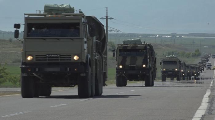 Naxçıvandakı döyüş təlimindən görüntülər - VİDEO