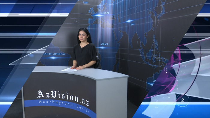AzVision TV releases new edition of news in German for June 7 -  VIDEO