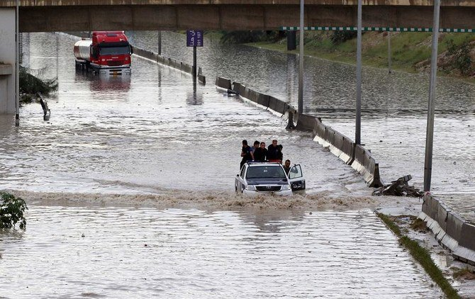 Heavy rainfalls force over 2,500 Libyans to flee homes: UNHCR