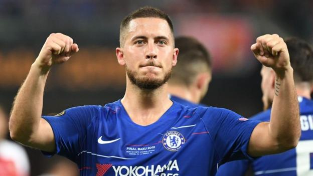 Eden Hazard: Real Madrid sign Chelsea forward for fee that could exceed £150m