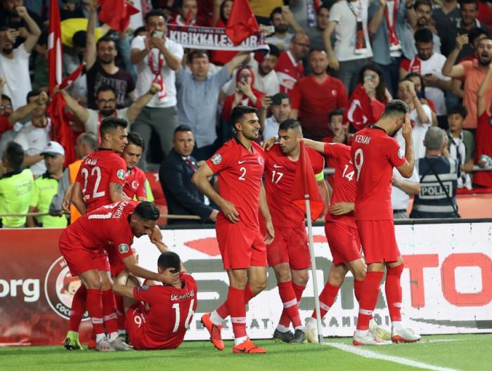 Qualifications Euro 2020:   La Turquie domine la France (2-0)