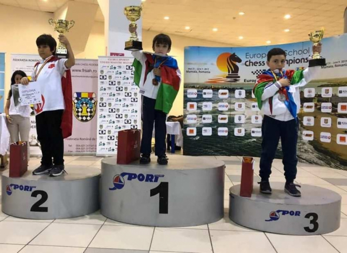 Şahmatçılarımız Avropa çempionatında 4 medal qazanıb