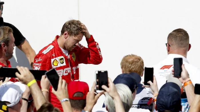 Vettel frustriert, Ferrari protestiert