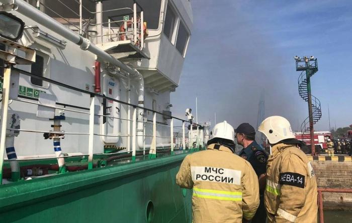 Un pétrolier frappé par une explosion dans le Caucase russe, plusieurs victimes