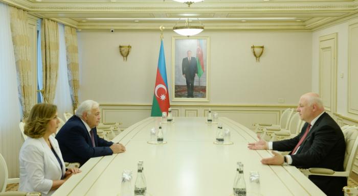 Ogtay Assadov a rencontré le président de l