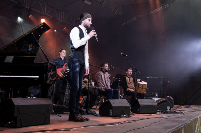 Riad Mammadov y Ehtiram Huseynov tocan Jazz mugham en Moscú