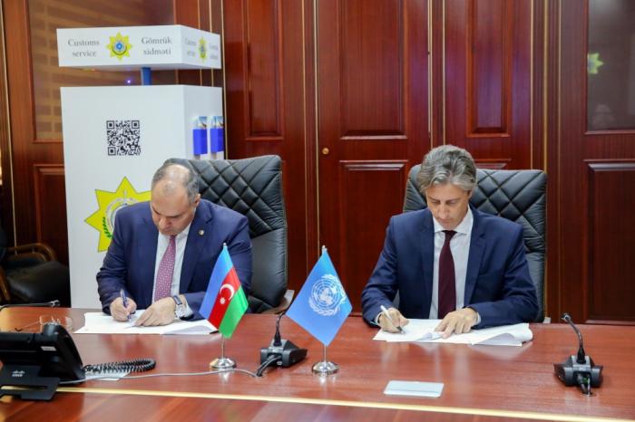 Gömrük Komitəsi ilə BMTİP arasında saziş imzalanıb