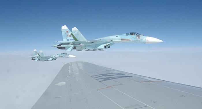 Ostsee: Russische Su-27 fängt Flugzeuge aus den USA und Schweden ab