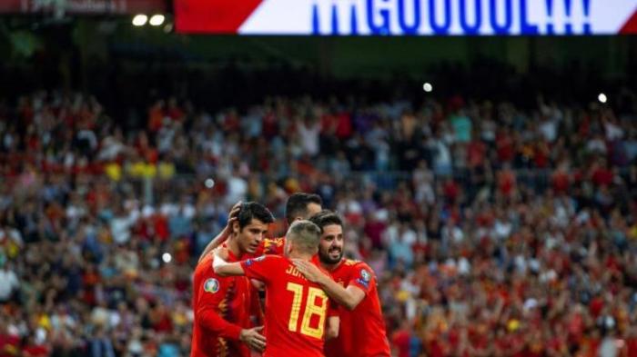 España gana por 3-0 a Suecia en la fase de clasificiación para la Eurocopa de 2020