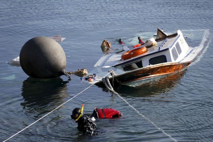 Grecia:   Fallecen 6 personas en un naufragio cerca de la isla de Lesbos