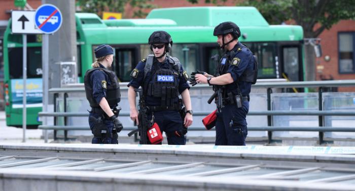 Nächtliche Explosionen in Schweden - FOTOS