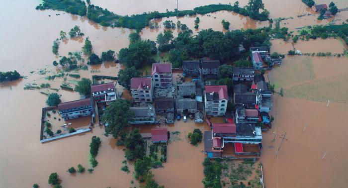 Evacuadas más de 150.000 personas por las inundaciones en el este de China
