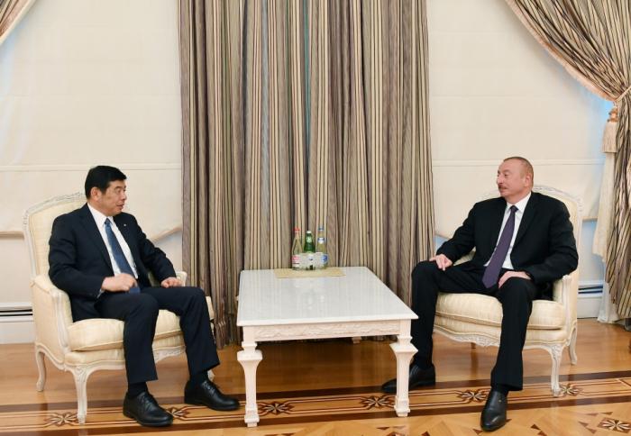 Ilham Aliyev a reçu le Secrétaire général de l