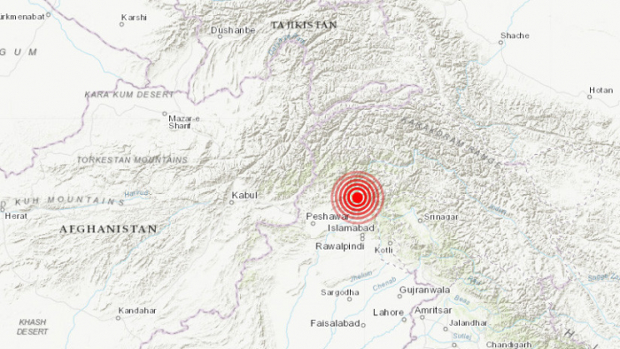 Un sismo de magnitud 5,2 sacude a Pakistán