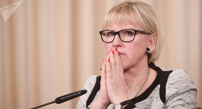 Schwedens Außenministerin vergleicht Beziehungen zu Russland mit dramatischem Tanz