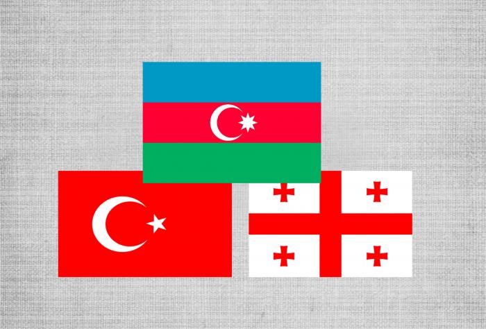 Trilaterales Treffen der aserbaidschanischen, türkischen und georgischen Verteidigungsminister