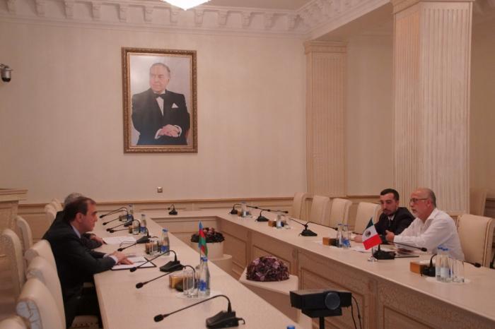 Embajador de México en Azerbaiyán realiza visita a Ganja