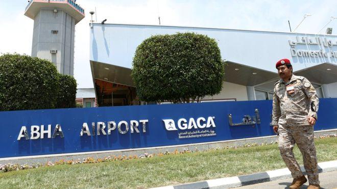 Yemen war: Second assault on Saudi Abha airport in three days