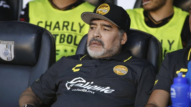 Die Gesundheit - Trainer Maradona verlässt mexikanischen Klub