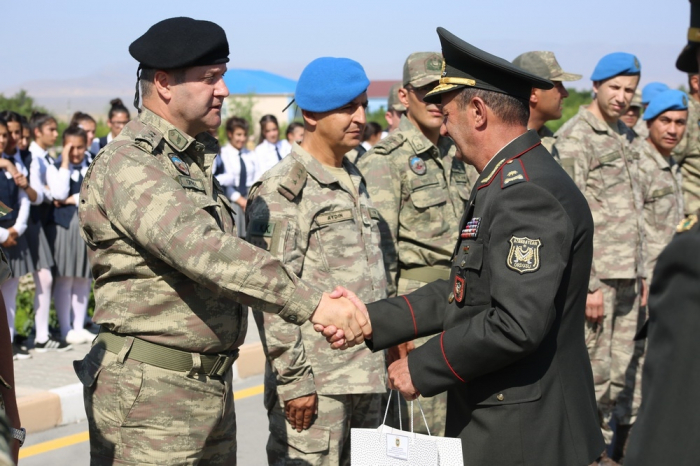 Les militaires turcs ayant participé à l'exercice au Nakhtchevan retournent dans leur pays