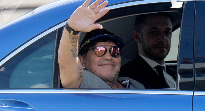 Maradona deja de ser el entrenador de Dorados de Sinaloa