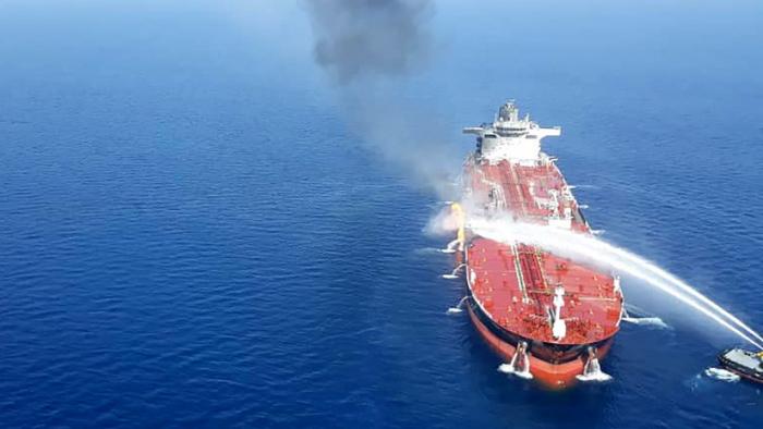 """""""Irán está escrito por todas partes""""  : Trump acusa a Teherán de los ataques a los petroleros en el golfo de Omán"""