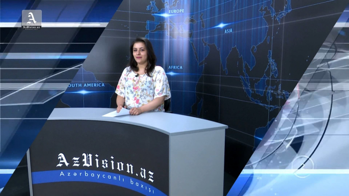 AzVision TV publica nueva edición de noticias en inglés para el 14 de junio -  Video