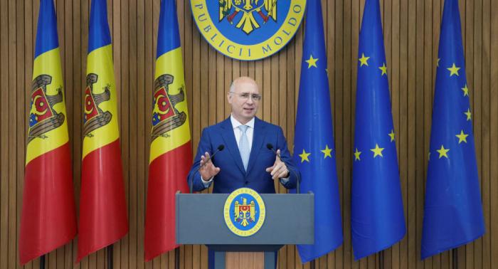 Dimite el primer ministro moldavo, Pavel Filip