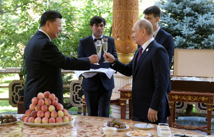 Putin gives Russian ice cream to China's Xi as birthday present