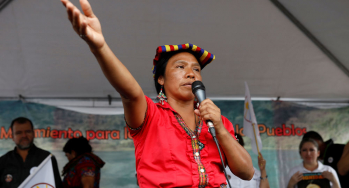 Thelma Cabrera, la indígena maya-man que aspira a presidir Guatemala