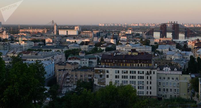 Explosion erschüttert Kiews Stadtzentrum –   Fotos