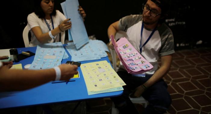 Cierran las urnas y comienza escrutinio de elecciones generales en Guatemala