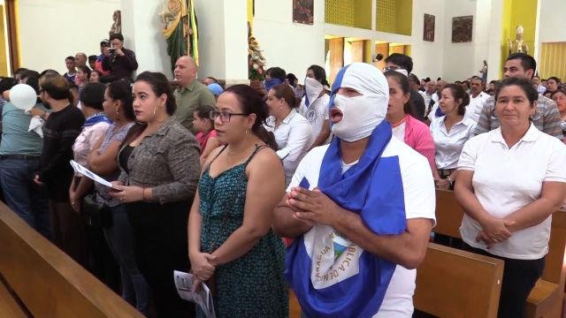 Nicaragua celebra la liberación de presos políticos en la Catedral de Managua