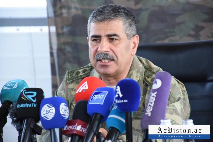 El enemigo fue derrotado en unos días durante los combates de abril-   Ministro de Defensa azerbaiyano