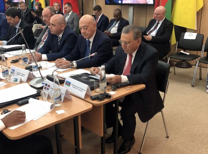 Ramiz Mehdiyev participe à une réunion internationalesur la sécurité en Russie