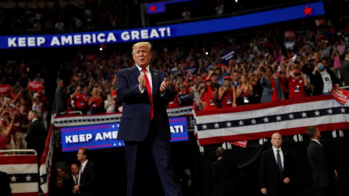 """Trump anuncia su candidatura para un segundo mandato presidencial:   """"Les prometo que nunca los decepcionaré"""""""