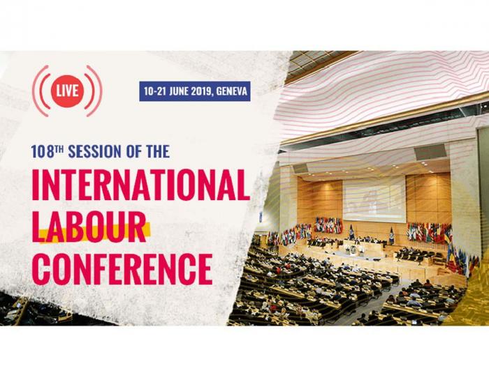 Azerbaijani delegation attends 108th session of Int'l Labor Conference