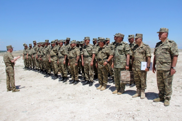 Azerbaijani MoD: Commander training sessions held with artillerymen –  VIDEO