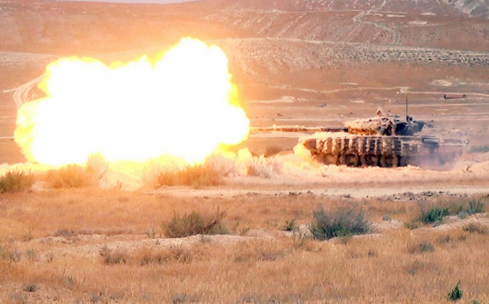Azerbaijani army holds exercises at combined-arms range -  PHOTOS+VIDEO