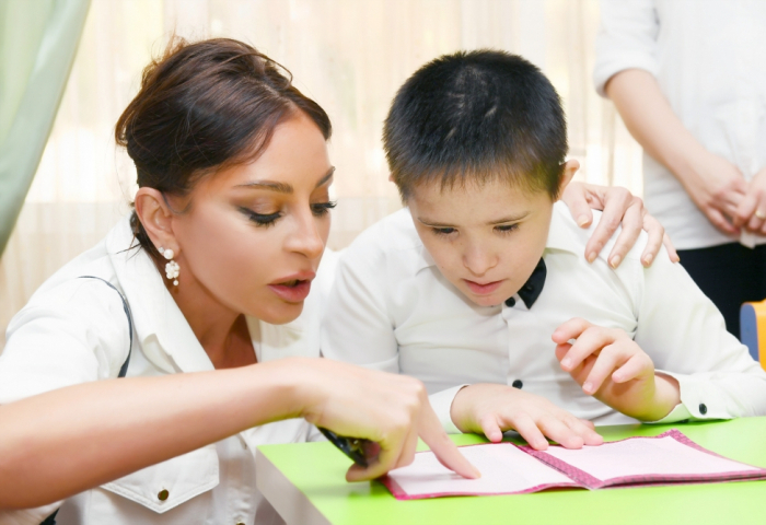 First Vice-President Mehriban Aliyeva visited social service center for children with physical disabilities -   PHOTOS