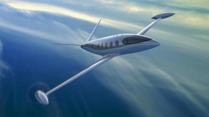 FOTOS:   Presentan el primer avión totalmente eléctrico que emprenderá vuelos comerciales