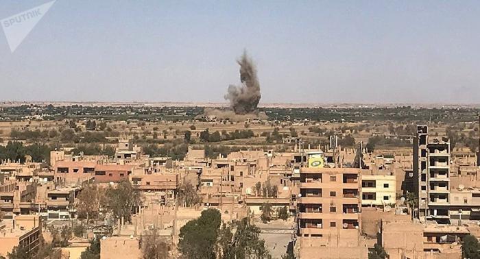 Varios civiles muertos al explotar una mina en el este de Siria
