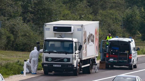 Lebenslange Haft im Fall von 71 in Lkw erstickten Migranten